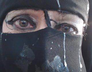 Niqab personne x sexe