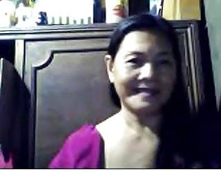 Asiatique mamie helen -cebu sodomie amateur